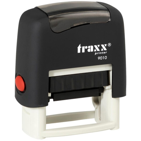 Σφραγίδα Traxx Printer 9010 Αυτομελανώμενη Μαύρη για κατασκευή σφραγίδας έως 2 μικρών λέξεων.