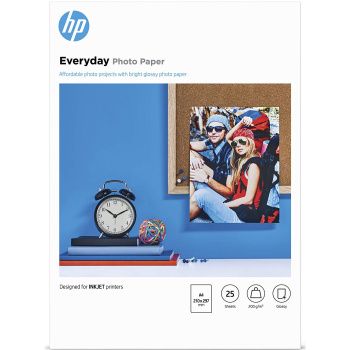 HP EVERYDAY A4 PHOTO PAPER 25Φ GLOSSY 200gr Q5451A