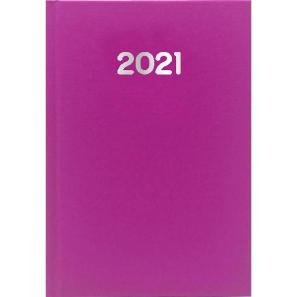 ΗΜΕΡΟΛΟΓΙΟ 2021 ΗΜΕΡΗΣΙΟ SIMPLE 10x14cm Φούξια
