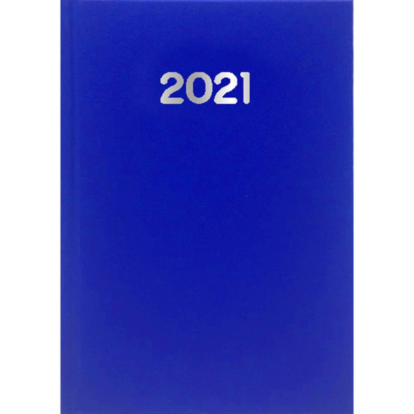 ΗΜΕΡΟΛΟΓΙΟ 2021 ΗΜΕΡΗΣΙΟ SIMPLE 10x14cm Μπλε Ηλεκτρίκ