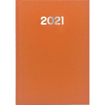 ΗΜΕΡΟΛΟΓΙΟ 2021 ΗΜΕΡΗΣΙΟ SIMPLE 10x14cm Πορτοκαλί