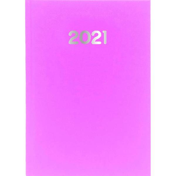 Ημερολόγιο Ημερήσιο 2021 Simple 10x14 Ρόζ