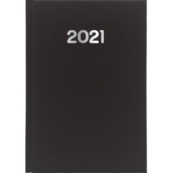 Ημερολόγιο Ημερήσιο 2021 Simple 12x17 Μαύρο