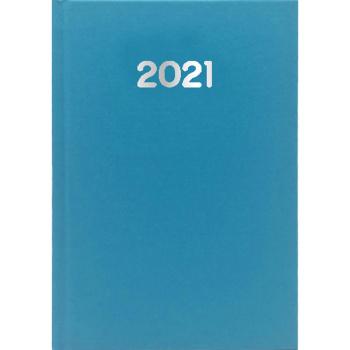 Ημερολόγιο Ημερήσιο 2021 Simple 14x21 Γαλάζιο