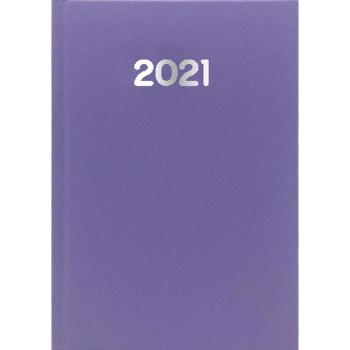 Ημερολόγιο Ημερήσιο 2021 Simple 14x21 Μωβ