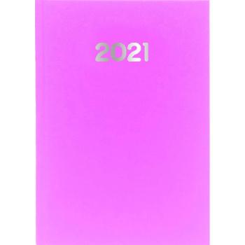 Ημερολόγιο Ημερήσιο 2021 Simple 14x21 Ροζ