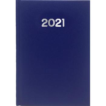 Ημερολόγιο Εβδομαδιαίο 2021 Simple 17x24 Μπλε
