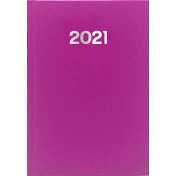 Ημερολόγιο Ημερήσιο 2021 Simple 17x25 Φούξια