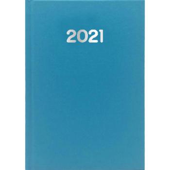 Ημερολόγιο Ημερήσιο 2021 Simple 17x25 Γαλάζιο