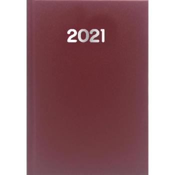 Ημερολόγιο Ημερήσιο 2021 Simple 17x25 Μπωρντώ