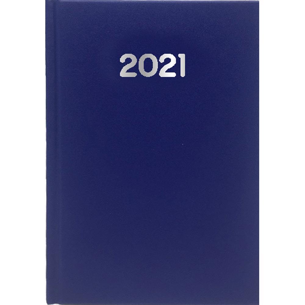 Ημερολόγιο Ημερήσιο 2021 Simple 21x29 Μπλε