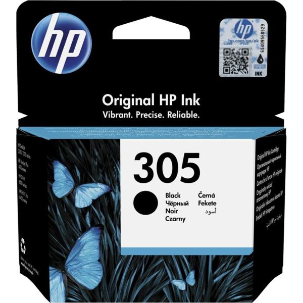 Hp 305 Black Μελάνι εκτυπωτή Inkjet 3YM61AE