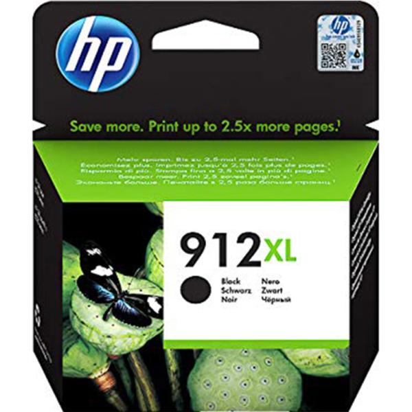 ΜΕΛΑΝΙ HP 912XL BLACK INKJET CARTRIDGE 3YL84AE