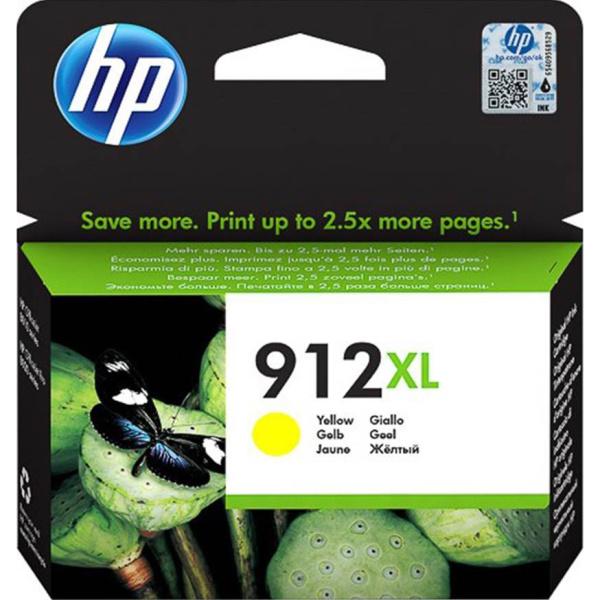 ΜΕΛΑΝΙ HP 912XL YELLOW INKJET CARTRIDGE 3YL83AE