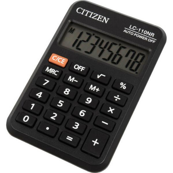 Citizen LC-110NR Αριθμομηχανή 8 Ψηφίων