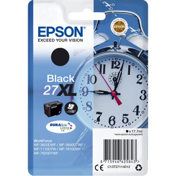 ΜΕΛΑΝΙ EPSON INKJET No 27XL BLACK C13T27114012