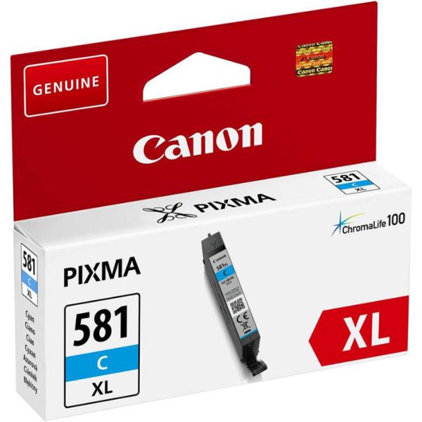 ΜΕΛΑΝΙ CANON CLI-581XL CYAN INKJET CARTRIDGE 2049C001(AA)