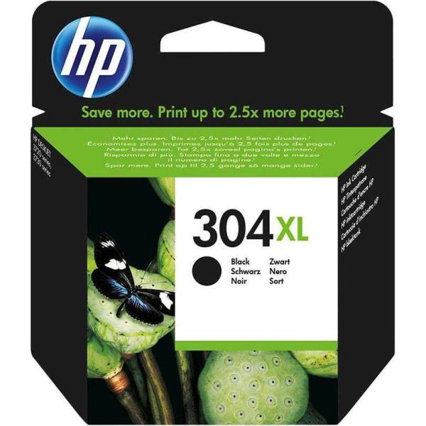 Μελάνι Hp 304xl Black Inkjet Cartridge Ν9Κ08ΑΕ