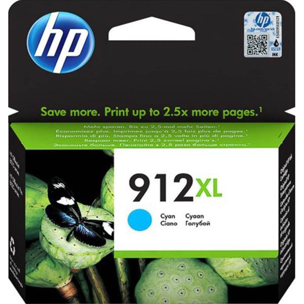 ΜΕΛΑΝΙ HP 912XL CYAN INK CATRIDGE 3YL81A