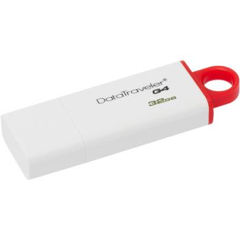 Kingston Data Traveler G4 DTIG4 32GB USB 3.0 (White/Red) (DTIG4/32GB)