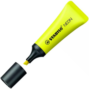 Μαρκαδόρος Υπογραμμίσης Stabilo Neon Κίτρινος Μαρκαδόρος Υπογραμμίσης 72/24