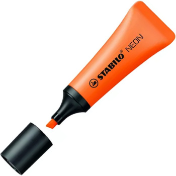 Stabilo Neon Πορτοκαλί Μαρκαδόρος Υπογραμμίσης