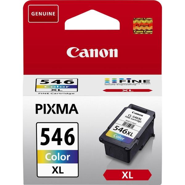 ΜΕΛΑΝΙ CANON CL-546XL COLOR INKJET CARTRIDGE 8288B001