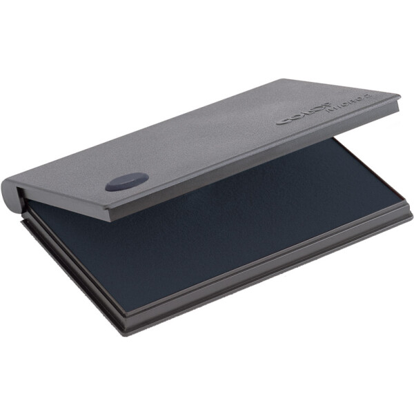 COLOP MICRO 2 Ταμπόν Απλών και Ξύλινων Σφραγίδων Μαύρο με 7cm πλάτος και 11cm μήκος.