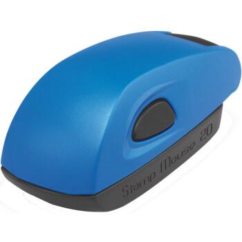 Σφραγίδα Colop Stamp Mouse 20 Τσέπης Μπλε για κατασκευή σφραγίδας έως 3ων γραμμών κειμένου.