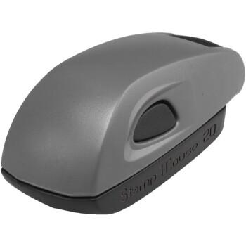 Σφραγίδα Colop Stamp Mouse 20 Τσέπης Γκρι για κατασκευή σφραγίδας έως 3ων γραμμών κειμένου.