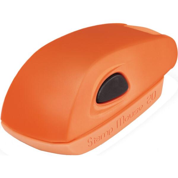 Σφραγίδα Colop Stamp Mouse 20 Τσέπης Πορτοκαλί για κατασκευή σφραγίδας έως 3ων γραμμών κειμένου.