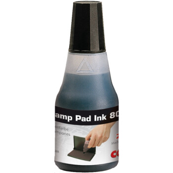 Colop 801 Μελάνι Σφραγίδας Μαύρο σε μπουκαλάκι 25ml για όλους τους τύπους ταμπόν Colop.