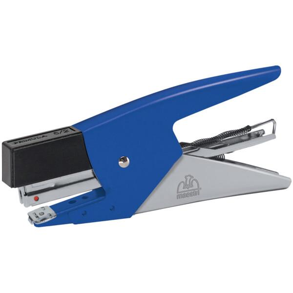 Συρραπτικό Roma Primula 6 χειρός Μπλε με δώρο 1000 σύρματα Roma. Έχει εργονομικό σχεδιασμό για εύκολο χειρισμό.