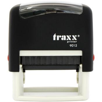 Σφραγίδα Traxx Printer 9012 Αυτομελανώμενη Μαύρη για κατασκευή σφραγίδας έως 5 γραμμών κειμένου.