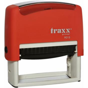 Σφραγίδα Traxx Printer 9015 Αυτομελανώμενη Κόκκινη για κατασκευή σφραγίδας έως 8 γραμμών κειμένου.