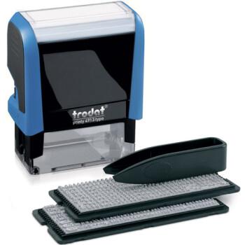 Σφραγίδα Aυτοκατασκευαζόμενη Trodat 4913 Typo για κατασκευή Αγγλικού κειμένου 5 γραμμών.