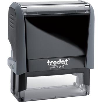 Σφραγίδα Trodat Printy 4913 Eco Αυτομελανώμενη Γκρι για κατασκευή σφραγίδας έως 6 γραμμών κειμένου.