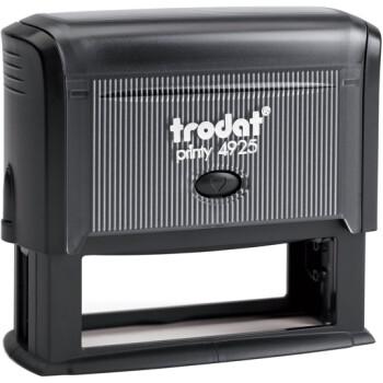 Σφραγίδα Trodat Printy 4925 Eco Μαύρη για κατασκευή σφραγίδας έως 8 γραμμών κειμένου.