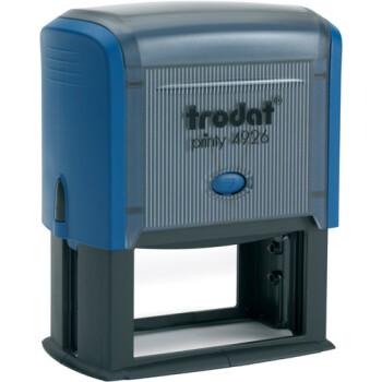 Σφραγίδα Trodat Printy 4926 Eco Αυτομελανώμενη Μπλε για κατασκευή σφραγίδας έως 10 γραμμών κειμένου.