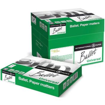 Χαρτί Α4 BALLET Λευκό 80gr οικονομικό για καθημερινή χρήση με διάσταση 21 x 29,7cm σε πακέτο 500 φύλλων.