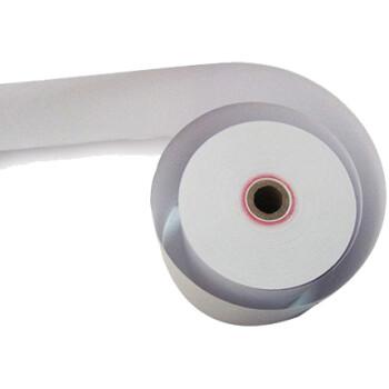 Χαρτοταινία Θερμική για ταμειακές μηχανές αυτογραφική με πλάτος 8cm, πάχος ρολού 7cm και μήκος ταινίας 55 μέτρα.