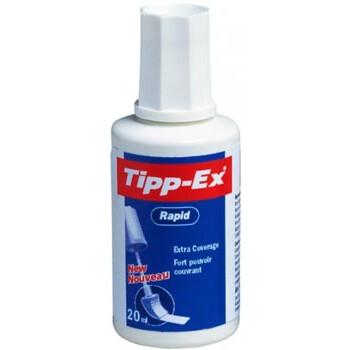 Tipp-Ex Διορθωτικό Υγρό Rapid Fluid με σφουγγαράκι για εύκολο επάλειψη σε μπουκάλι 20ml.