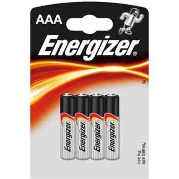 Μπαταρίες Energizer Αλκαλικές τύπου ΑΑΑ σε συσκευασία 4ων τεμαχίων σχεδιασμένες για να παρέχουν υψηλή απόδοση και μέγιστη αντοχή.