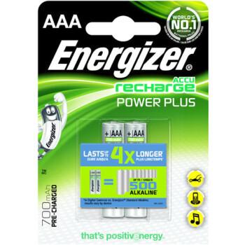 Μπαταρίες Energizer Recharge Power Plus Επαναφορτιζόμενες NH12 1.2V, NIMH-HR03, 700mAh τύπου ΑΑΑ παρέχουν απόδοση ίση με 500 αλκαλικές μπαταρίες.