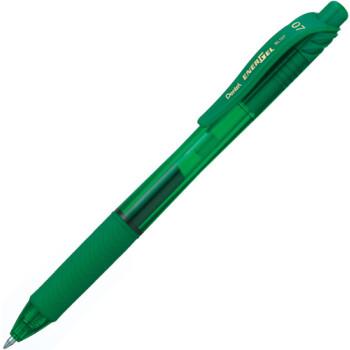 Pentel ENERGEL BL107 Στυλό Πράσινο με μελάνι gel νέας γενιάς που στεγνώνει αμέσως με απαλή γραφή.