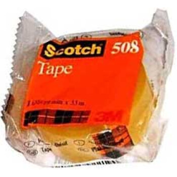 Κολλητική Ταινία Scotch 508 της 3M οικονομική για καθημερινή χρήση με πλάτος 19mm και μήκος 33 μέτρα.