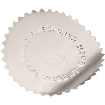 Ασημί αυτοκόλλητες ετικέτες Trodat Wafers με διάμετρο 5,4cm ιδανικές για πρέσες ανάγλυφης εκτύπωσης.