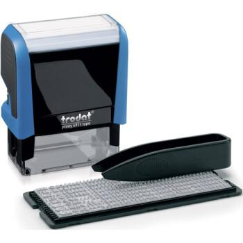 Σφραγίδα Aυτοκατασκευαζόμενη Trodat 4911 Typo για κατασκευή Αγγλικού κειμένου 3ων γραμμών.
