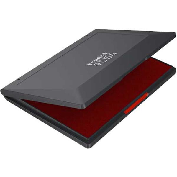 Trodat 9054 Ταμπόν Απλών και Ξύλινων Σφραγίδων Κόκκινο με 14.8cm πλάτος και 21cm μήκος (Α5).