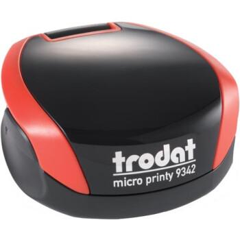 Σφραγίδα Στρογγυλή Trodat Printy 9342 Τσέπης Κόκκινη για κατασκευή σφραγίδας με διάμετρο 4.2cm.